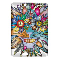 Anthropomorphic Flower Floral Plant Amazon Kindle Fire Hd (2013) Hardshell Case