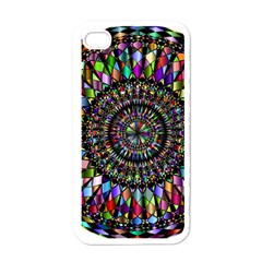 Mandala Decorative Ornamental Apple Iphone 4 Case (white)