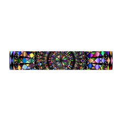 Mandala Decorative Ornamental Flano Scarf (mini)