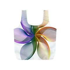 Abstract Geometric Line Art Full Print Recycle Bags (s)