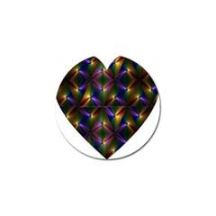 Heart Love Passion Abstract Art Golf Ball Marker (10 Pack) by Simbadda