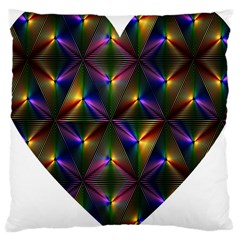 Heart Love Passion Abstract Art Large Cushion Case (one Side)