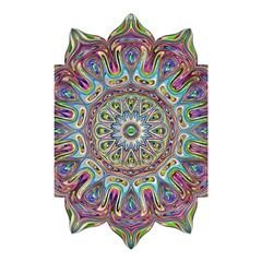 Mandala Decorative Ornamental Shower Curtain 48  X 72  (small)