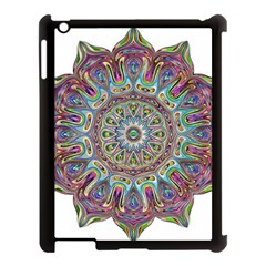 Mandala Decorative Ornamental Apple Ipad 3/4 Case (black)