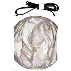 Abstract Geometric Line Art Shoulder Sling Bags by Simbadda