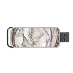 Abstract Geometric Line Art Portable Usb Flash (two Sides)