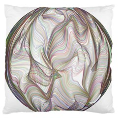 Abstract Geometric Line Art Standard Flano Cushion Case (two Sides)
