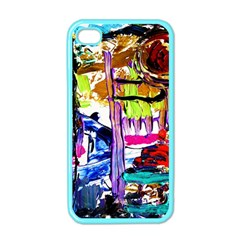 Walk With A Dog 1/1 Apple Iphone 4 Case (color)