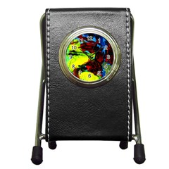 Perfect Night  For Samurai 1 Pen Holder Desk Clocks