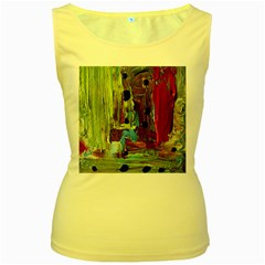 Point Of View #4 Women s Yellow Tank Top