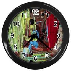 Point Of View #4 Wall Clocks (black)