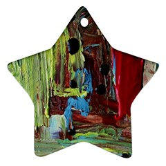 Point Of View #4 Star Ornament (two Sides)