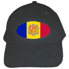 National Flag Of Andorra  Black Cap