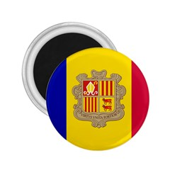 National Flag Of Andorra  2 25  Magnets