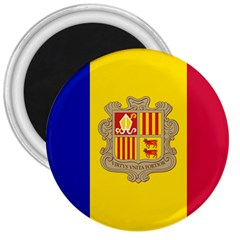 National Flag Of Andorra  3  Magnets