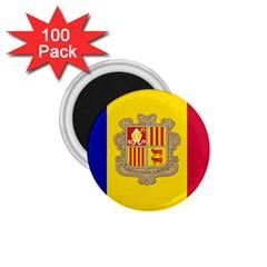 National Flag Of Andorra  1 75  Magnets (100 Pack)