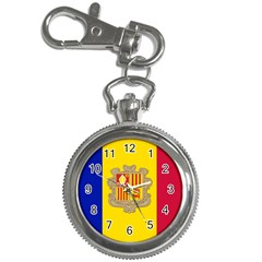 National Flag Of Andorra  Key Chain Watches