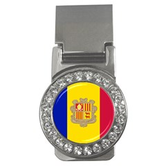 National Flag Of Andorra  Money Clips (cz)