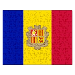 National Flag Of Andorra  Rectangular Jigsaw Puzzl