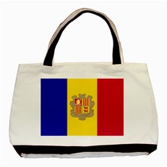 National Flag Of Andorra  Basic Tote Bag (two Sides)