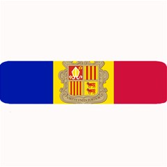 National Flag Of Andorra  Large Bar Mats