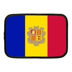 National Flag Of Andorra  Netbook Case (medium)