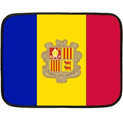 National Flag Of Andorra  Double Sided Fleece Blanket (mini)