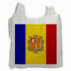 National Flag Of Andorra  Recycle Bag (one Side)