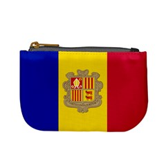 National Flag Of Andorra  Mini Coin Purses