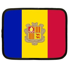 National Flag Of Andorra  Netbook Case (xxl)