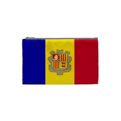 National Flag Of Andorra  Cosmetic Bag (small)
