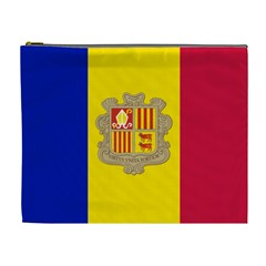 National Flag Of Andorra  Cosmetic Bag (xl)