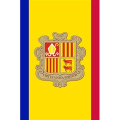 National Flag Of Andorra  5 5  X 8 5  Notebooks