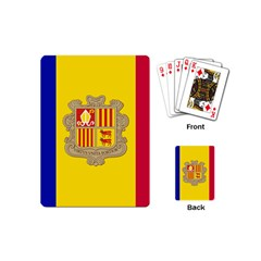 National Flag Of Andorra  Playing Cards (mini)