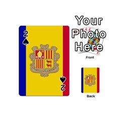 National Flag Of Andorra  Playing Cards 54 (mini)