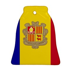 National Flag Of Andorra  Ornament (bell)