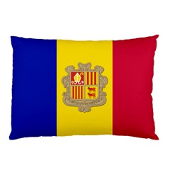 National Flag Of Andorra  Pillow Case (two Sides)