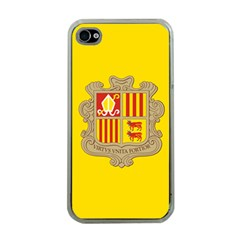 National Flag Of Andorra  Apple Iphone 4 Case (clear)