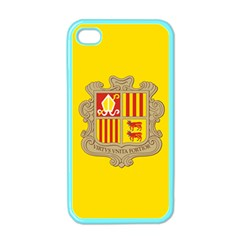 National Flag Of Andorra  Apple Iphone 4 Case (color)
