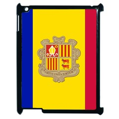 National Flag Of Andorra  Apple Ipad 2 Case (black) by abbeyz71