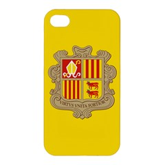 National Flag Of Andorra  Apple Iphone 4/4s Hardshell Case