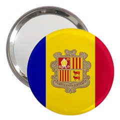 National Flag Of Andorra  3  Handbag Mirrors