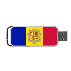National Flag Of Andorra  Portable Usb Flash (two Sides)