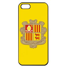 National Flag Of Andorra  Apple Iphone 5 Seamless Case (black)