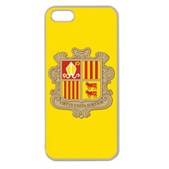 National Flag Of Andorra  Apple Seamless Iphone 5 Case (clear)