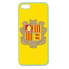 National Flag Of Andorra  Apple Seamless Iphone 5 Case (color)