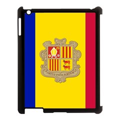 National Flag Of Andorra  Apple Ipad 3/4 Case (black)