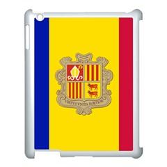 National Flag Of Andorra  Apple Ipad 3/4 Case (white)