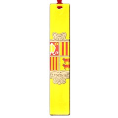 National Flag Of Andorra  Large Book Marks