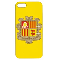 National Flag Of Andorra  Apple Iphone 5 Hardshell Case With Stand